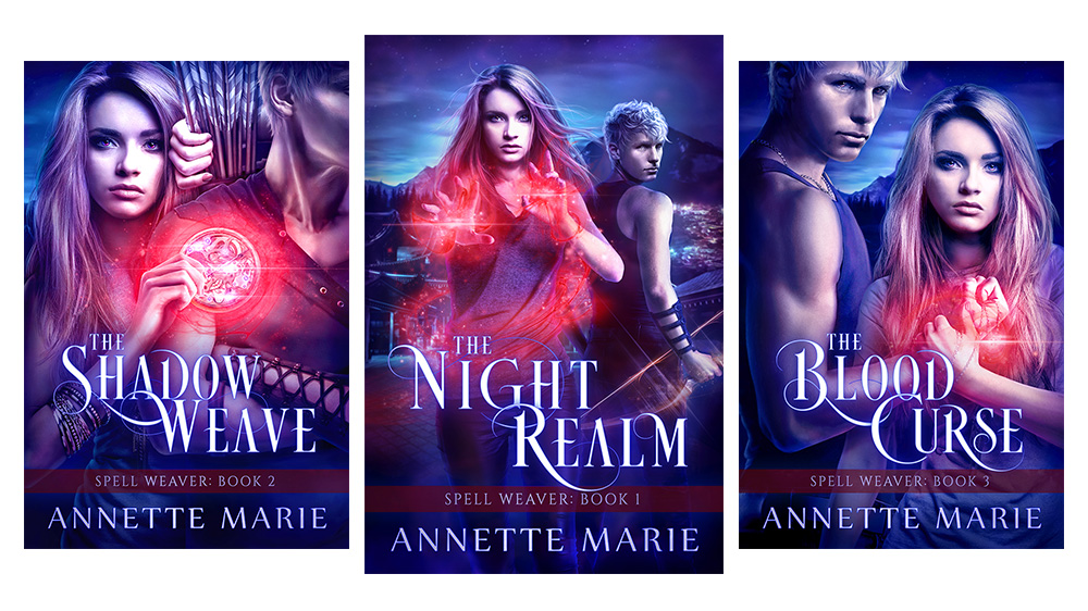 Annette Marie | The Shadow Weave release & new series covers!