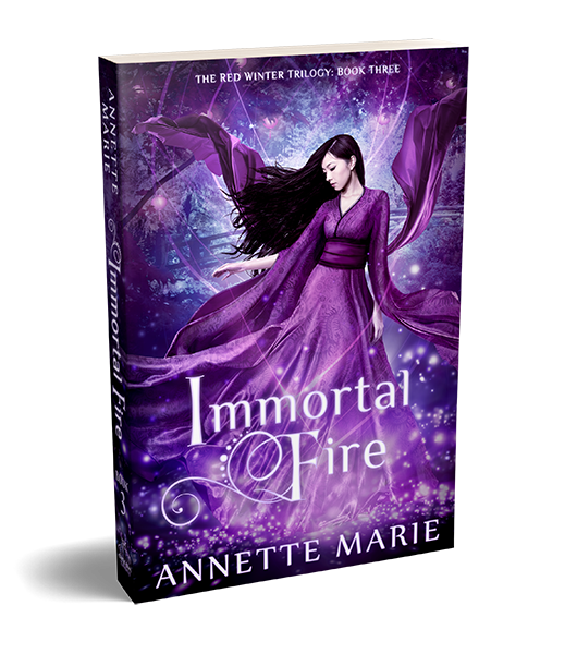 Immortal Fire asian mythology fantasy by Annette Marie