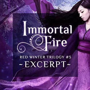 Immortal Fire by Annette Marie excerpt.