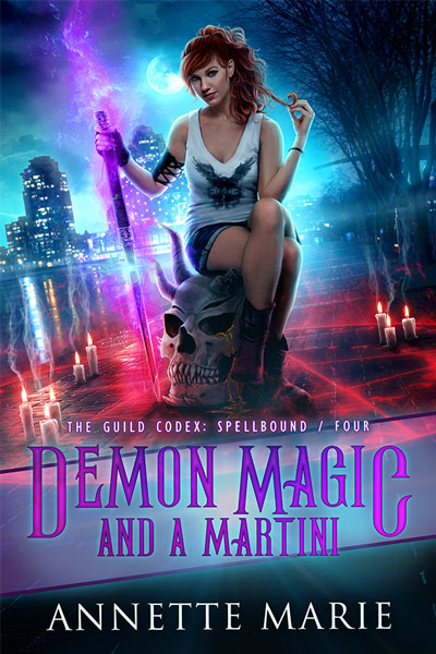 Demon Magic and a Martini - urban fantasy by Annette Marie